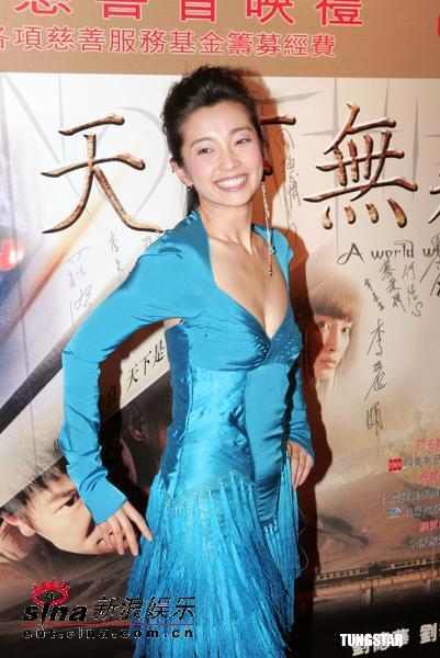 图文:《天下无贼》香港举行慈善首映(10)