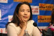 吕丽萍做客新浪:中国的表演艺术缺人才(组图)