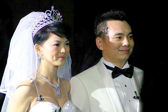 图文:李湘李厚霖举行盛大婚礼--李湘李厚霖