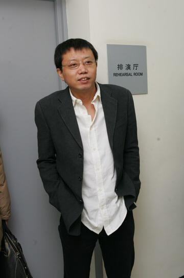图文:太合麦田公司董事总经理宋柯在后台