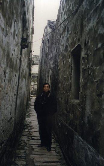 资料图片:忆陈逸飞-画家杨明义的珍藏照片(9)