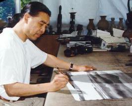 画家杨明义:陈逸飞的房子设计好了还没搬去住