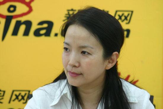 图文:吕丽萍第三次作客新浪嘉宾聊天室(7)