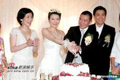 组图:杜汶泽与田蕊妮大婚幸福甜蜜羡煞旁人