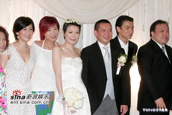 图文:杜汶泽与田蕊妮大婚幸福甜蜜羡煞旁人(6)