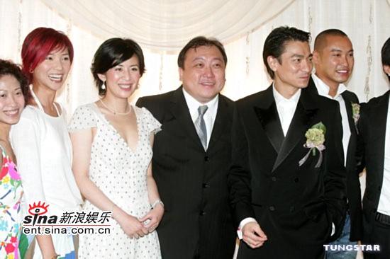 图文:杜汶泽与田蕊妮大婚幸福甜蜜羡煞旁人(7)