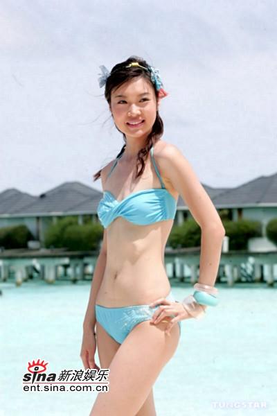 资料图片:2005香港小姐候选佳丽--8号叶翠翠