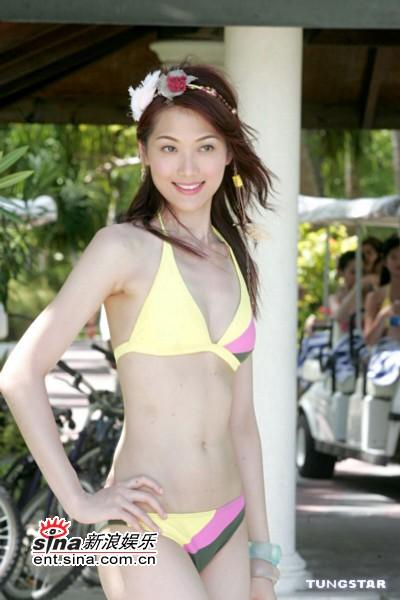 资料图片:2005香港小姐候选佳丽--16号林莉图片