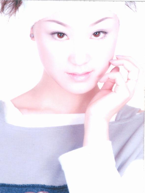资料图片:05星姐选举第6期参赛选手-陈晓