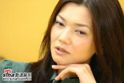知性美女姜培琳加盟影视公司作客新浪(附视频)