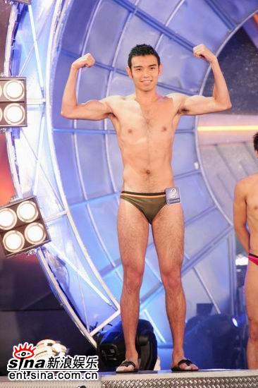 图文:亚洲先生泳装出场展示结实肌肉现场轰动(4)