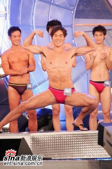 图文:亚洲先生泳装出场展示结实肌肉现场轰动(20)