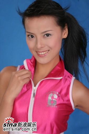 资料图片:12名准星姐美丽诞生--12号王维湘