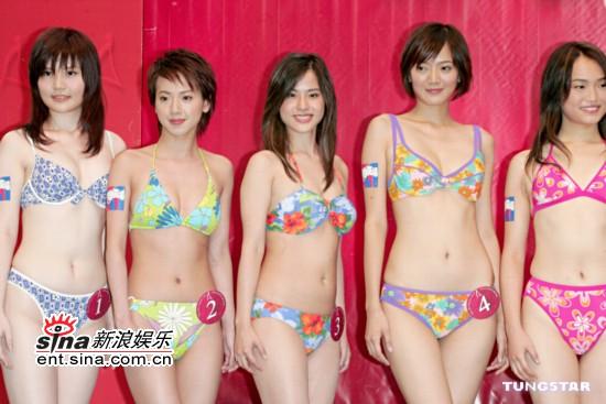 图文:准亚姐泳装公开亮相表现出色