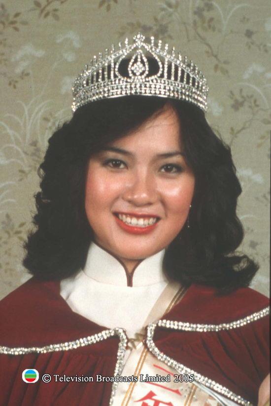 图文:港姐回顾美丽瞬间之1982年冠军--梁韵蕊
