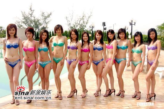 图文:亚洲小姐拍摄泳衣特辑展现妖娆身段(5)
