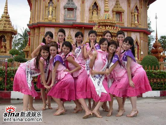图文:准星姐赴泰国拍摄外景众星姐美丽合影