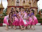 组图:准星姐赴泰国拍摄外景性感可爱尽收眼底