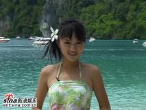 组图:星姐泰国性感可爱拍外景--6号黄烁汀