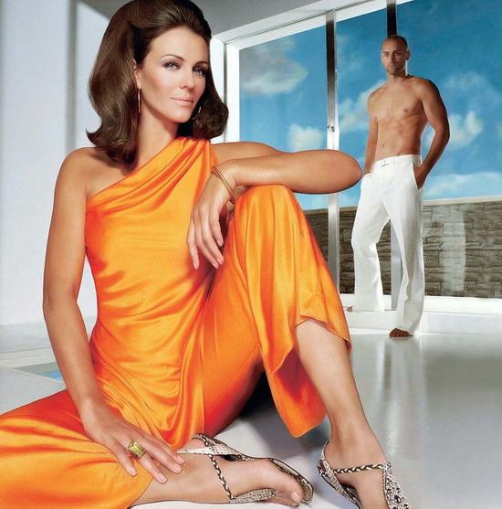 组图:女星伊丽莎白-赫莉高贵典雅代言时尚品牌