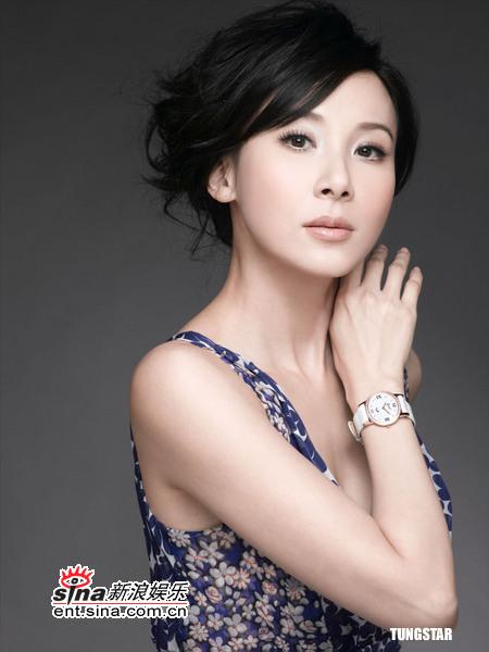 5月19日最美女星:萧蔷代言名表气质典雅脱俗