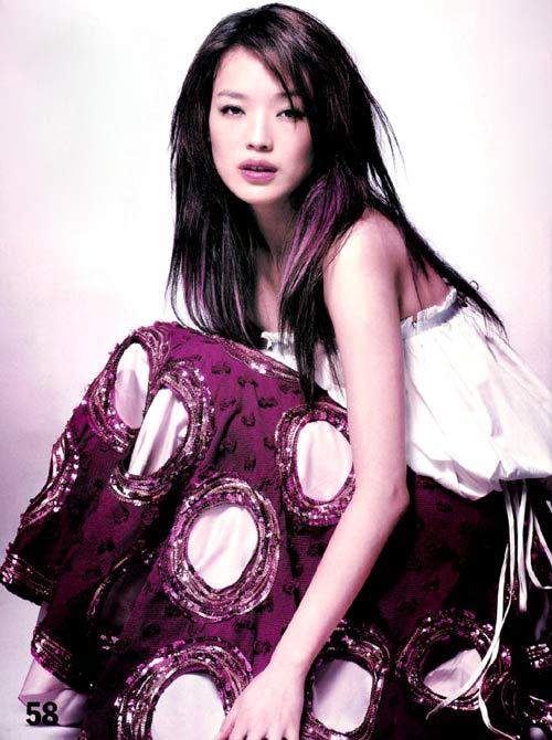 5月22日最美女星:舒淇写真混合天真与妩媚诱惑