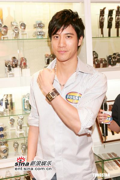 6月1日最酷男星:王力宏代言手表献爱心筹善款