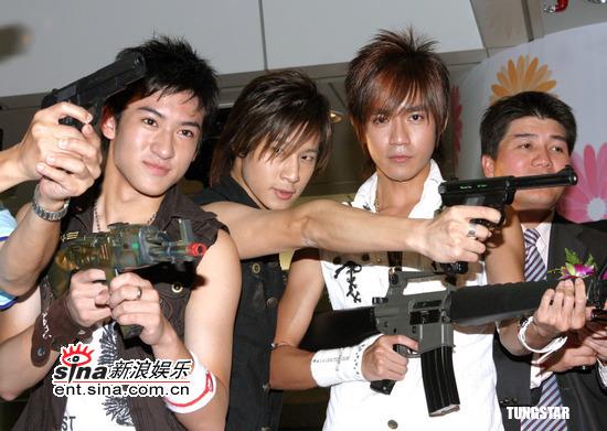 8月2日最酷男星:元气组合代言电玩台湾区选拔赛