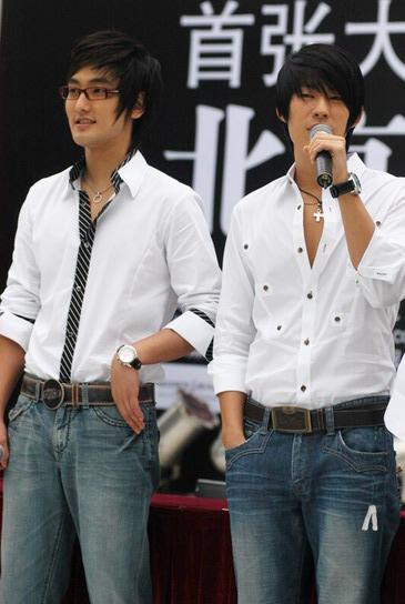 8月31日最酷男星:吴建豪安七炫北京帅气亮相