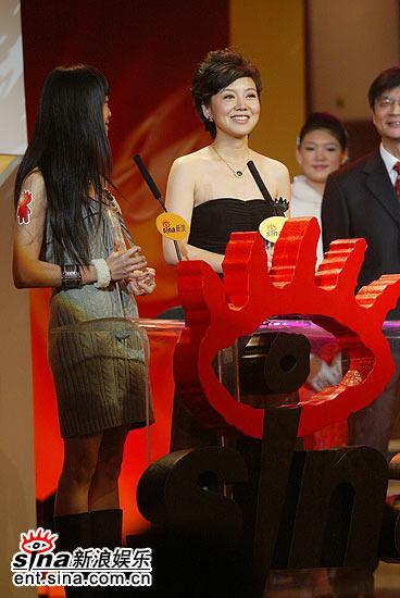 2006网络盛典柳云龙闫妮分获年度男女演员