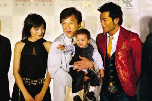 《宝贝计划》北京首映成龙希望表演被关注(图)