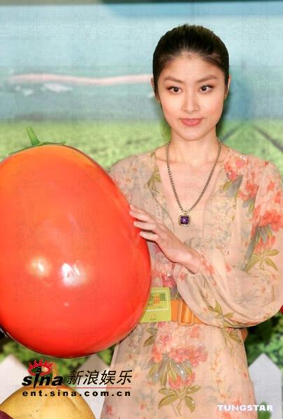 组图:陈慧琳获选世界十大杰青倡导饮食要均衡