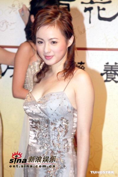 图文:新亚姐及蒋怡等众美女性感出席开幕晚宴(4)
