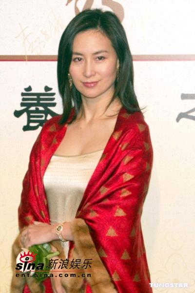 图文:新亚姐及蒋怡等众美女性感出席开幕晚宴(8)