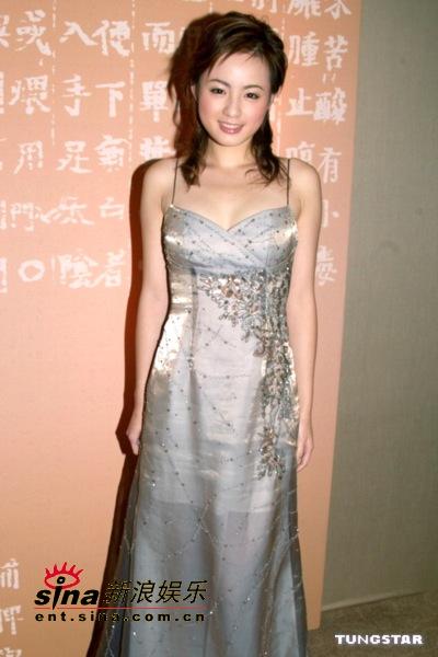 图文:新亚姐及蒋怡等众美女性感出席开幕晚宴(11)