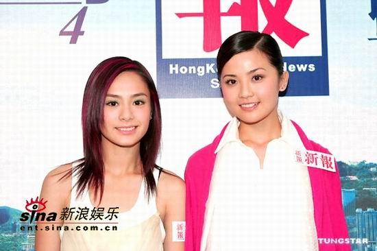 组图:Twins粉红可爱装出席新报45周年庆祝酒会