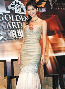 林志玲美人鱼春装亮相凸显腰围和胸部线条(图)