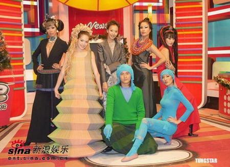 凯渥名模走秀迎新年与观众共度时尚跨年夜(图)