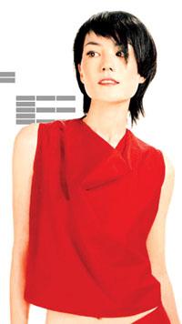 红衣红颜红运看王菲、李冰冰红色当道(组图)