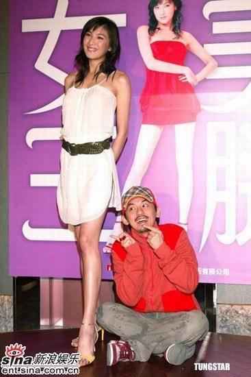 组图:陈思璇大秀玉腿击败日韩美女代言车赛