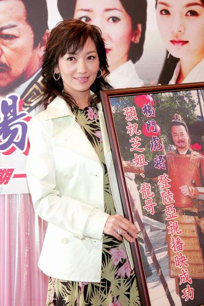 赵雅芝重返荧屏拍戏须经三个孩子拍板(附图)