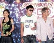 《美丽传说2》首映应采儿孙耀威拒合照(附图)