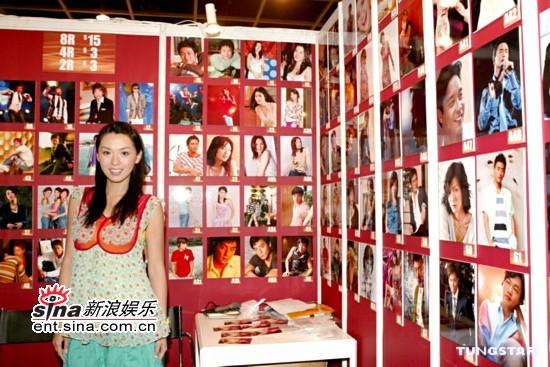 组图:陈炜靓装出席书展活动称看电影多过看书