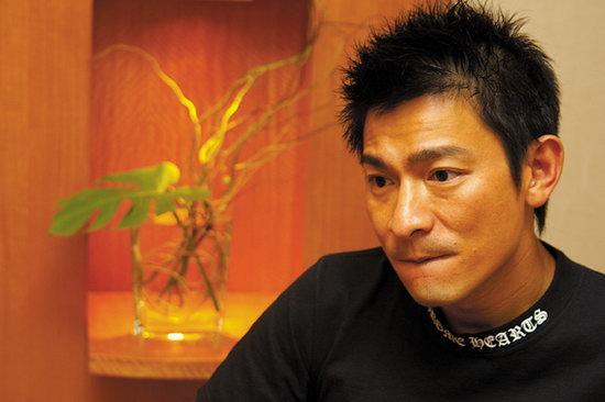 专访刘德华:我做反派不会无理杀人的(附图)