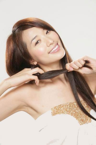 图文:林志玲代言护发产品--台湾第一名模