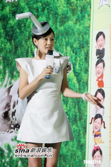 组图:蔡康永当老师对小S进行营养钙念大考验