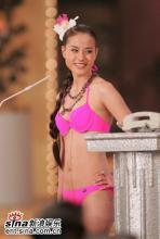 组图:2005亚洲小姐总决赛众佳丽性感泳装之美