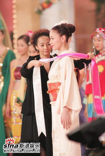组图:16号日本佳丽富田幸江获05亚姐友谊小姐