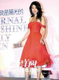 陈慧琳遭未来婆婆逼婚:没有代表作不嫁人(图)