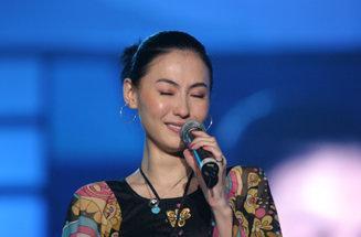 张柏芝为谢霆锋幸福洒泪歌迷高呼祝你们幸福